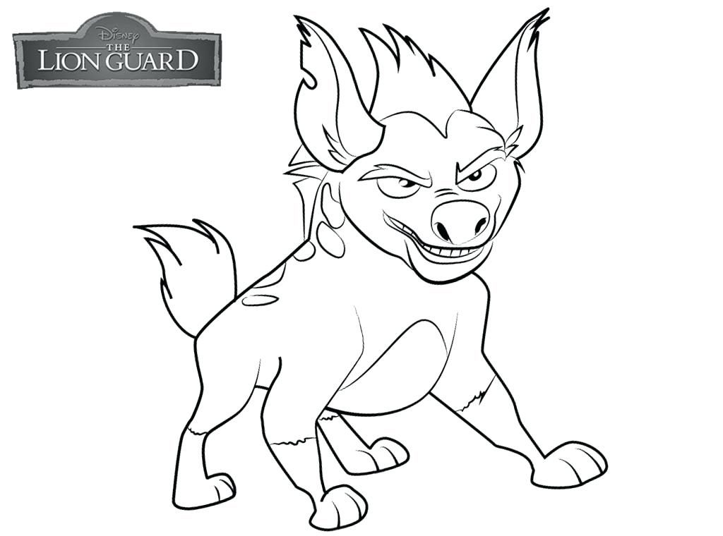 Printable Lion Guard Coloring Pages