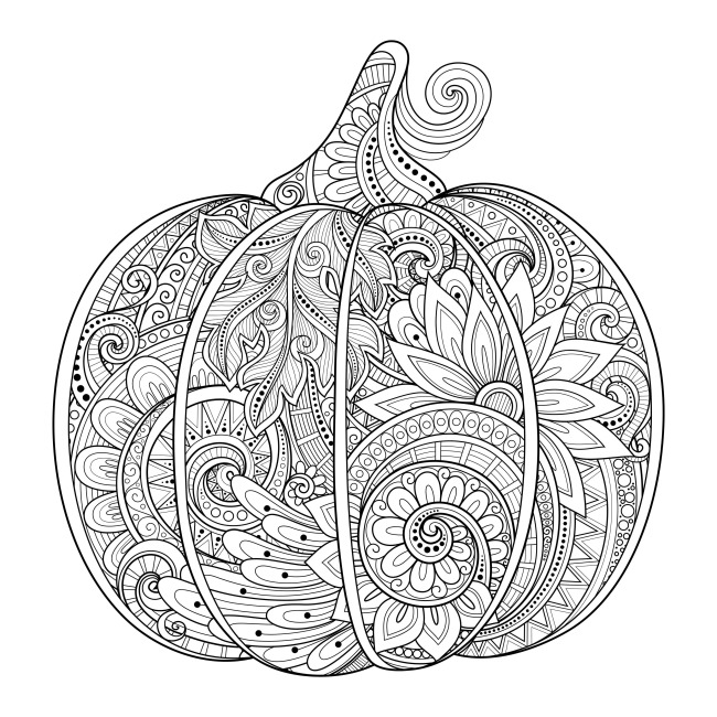 adult coloring pages fall Fall Coloring Pages for Adults   Best Coloring Pages For Kids adult coloring pages fall