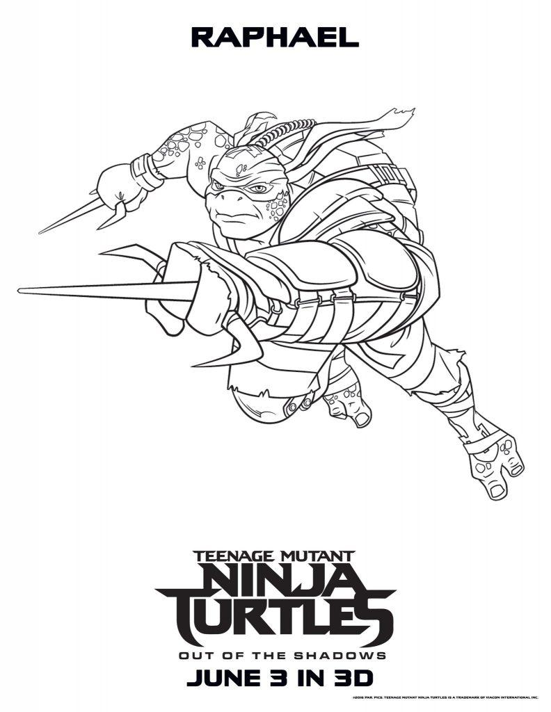 Teenage Mutant Ninja Turtles Coloring Pages - Best ...