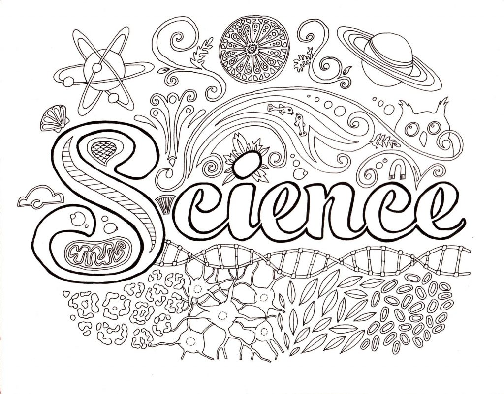 Science Coloring Pages Free Printable