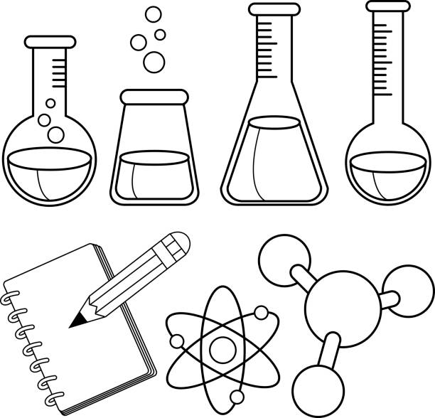 Science Tools Coloring Page
