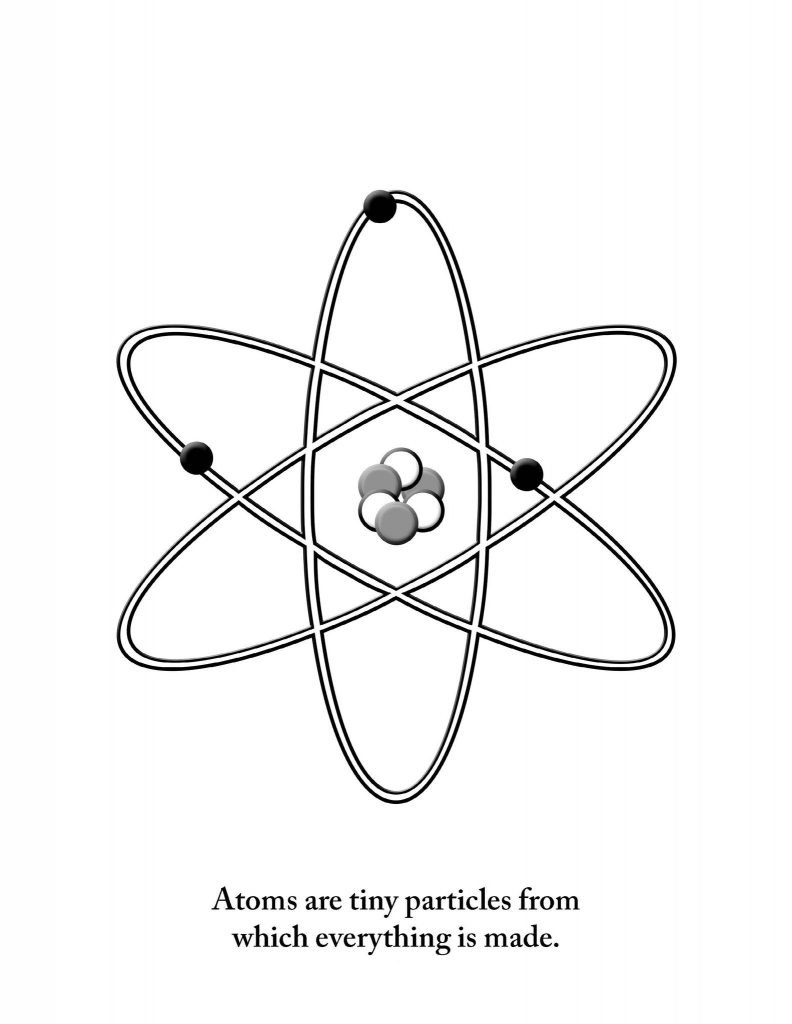 The Atom - Science Coloring Pages