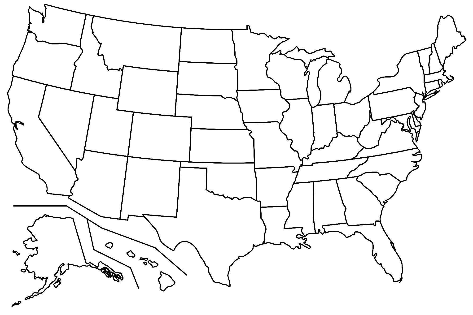 us map color sheet Us Map Coloring Pages Best Coloring Pages For Kids