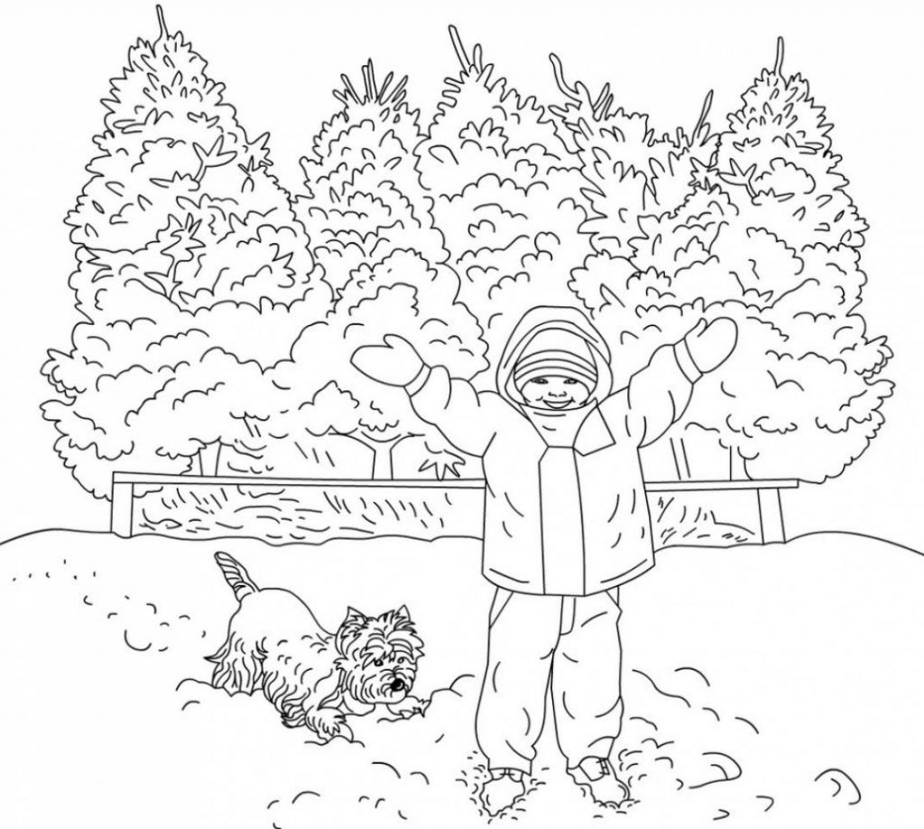 Winter Coloring Pages for Adults Best Coloring Pages For