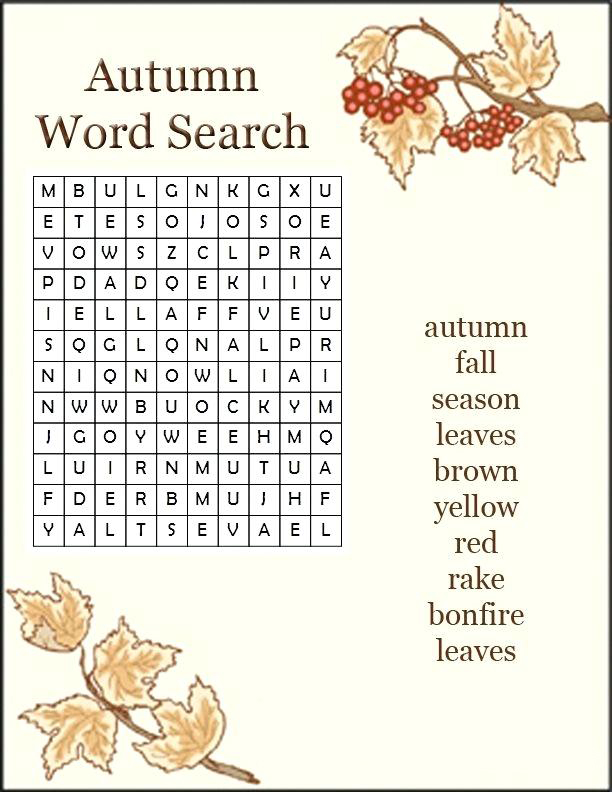 graphic about Fall Word Searches Printable referred to as Slide Phrase Appear - Excellent Coloring Web pages For Children