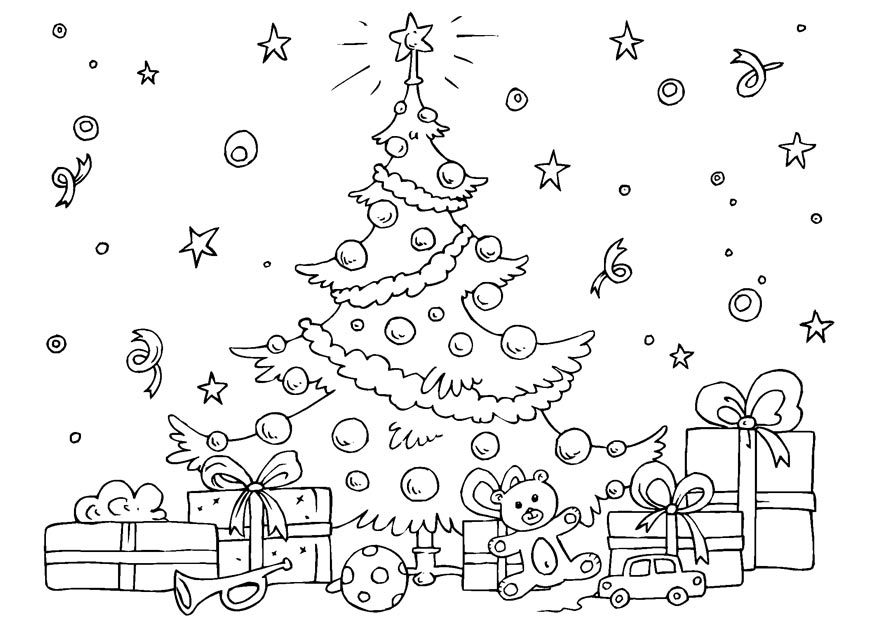 Christmas - December Coloring Pages