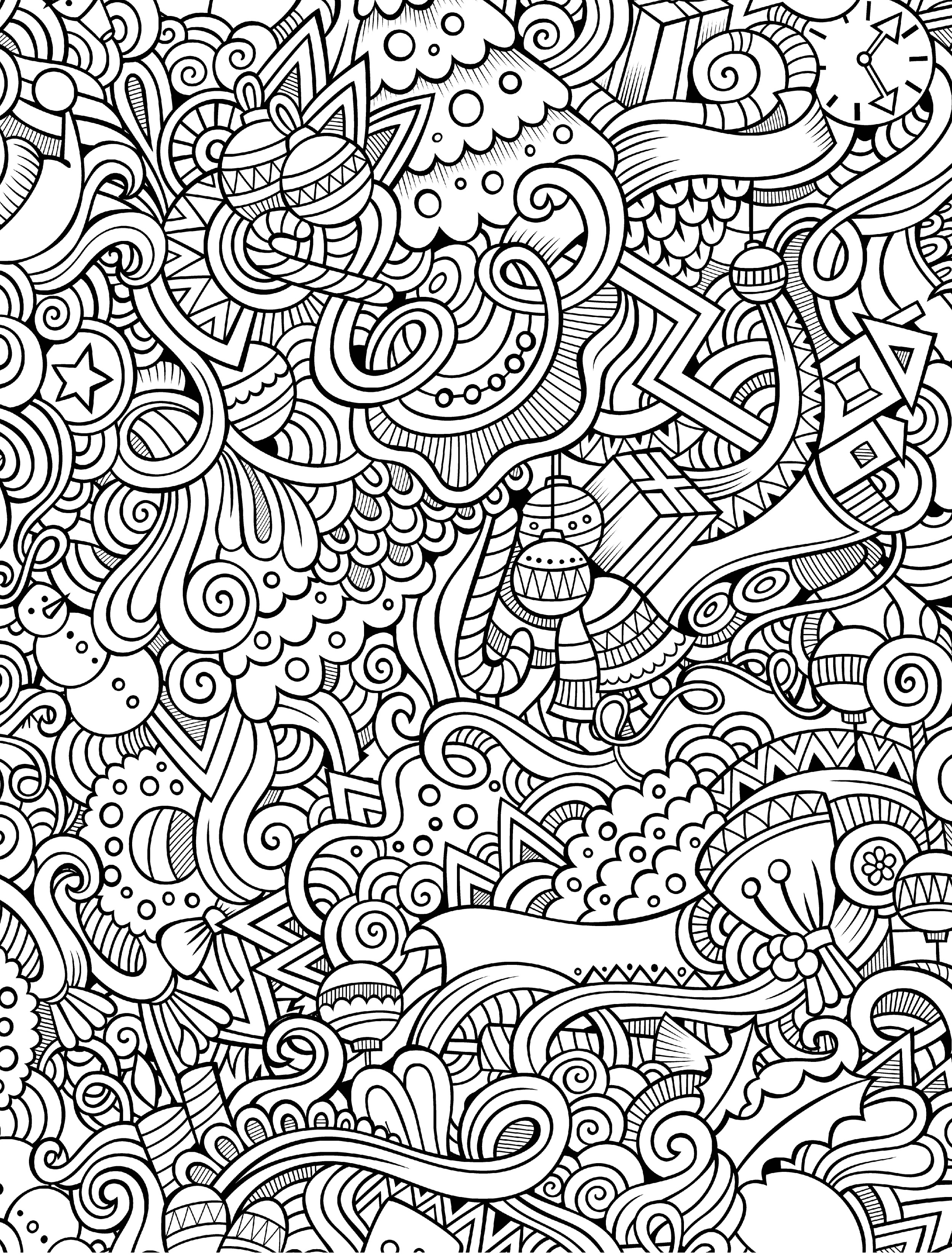 Christmas Coloring Pages - Best Coloring Pages For Kids