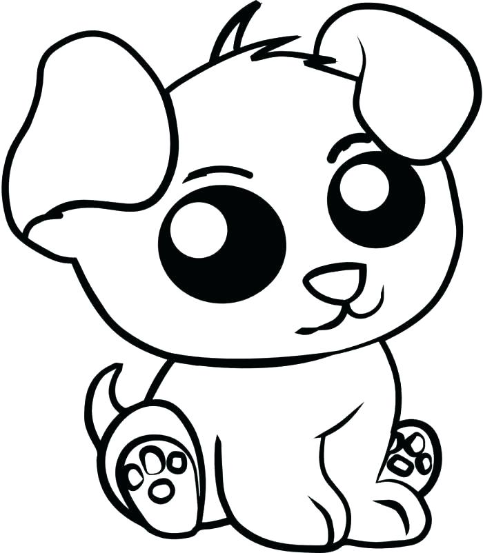 print cute animal coloring pages - photo#6