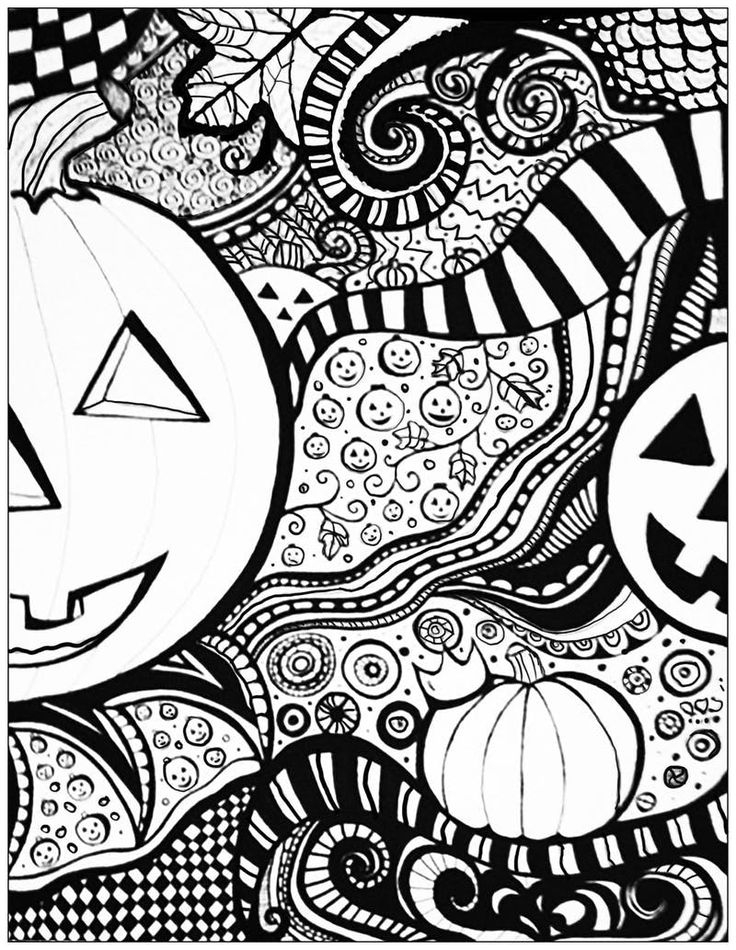 Design October Coloring Pages