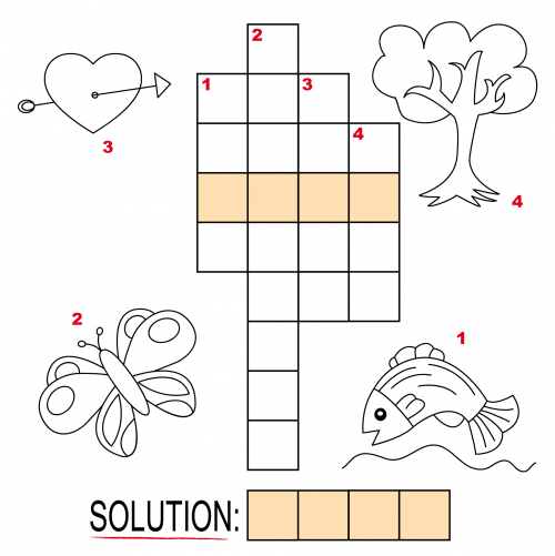 Easy Crossword Puzzles for Kids
