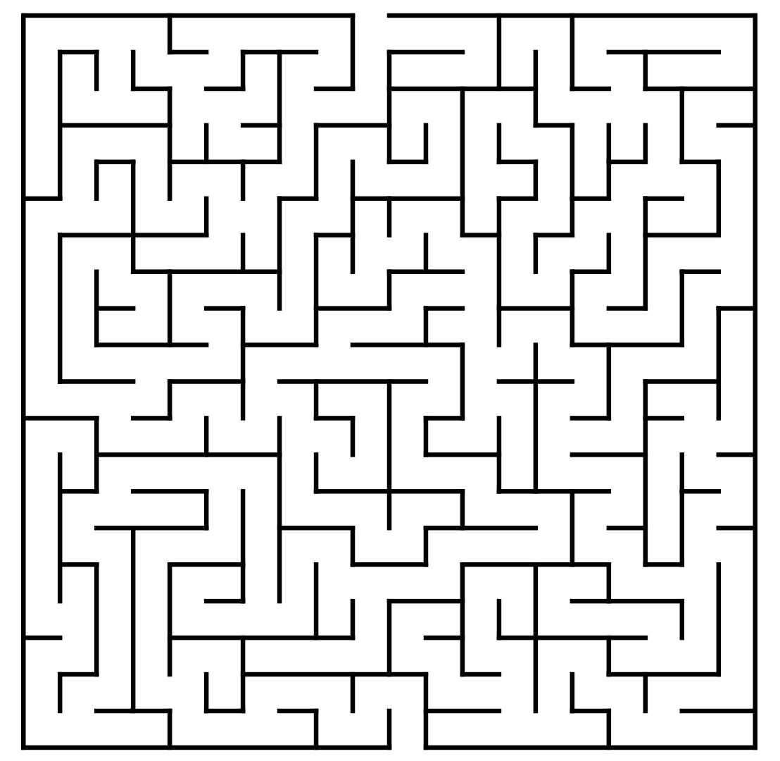 photograph regarding Printable Mazes Medium referred to as Printable Mazes - Most straightforward Coloring Webpages For Little ones