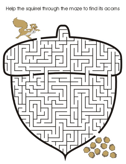 Find the Way Maze Puzzle