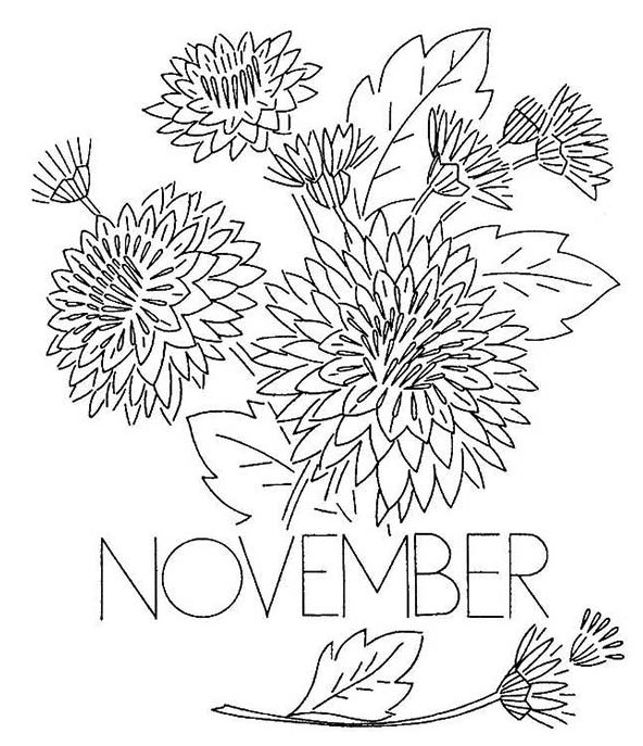 November Coloring Pages Best Coloring Pages For Kids