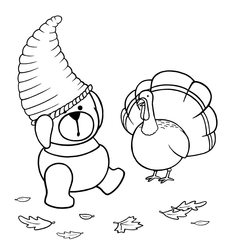 Free November Coloring Pages