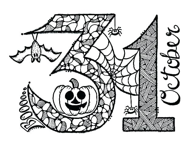 October Coloring Pages - Best Coloring Pages For Kids