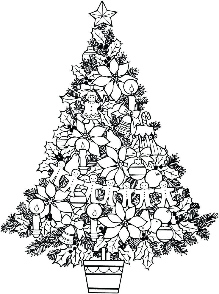 Ornaments - December Coloring Pages