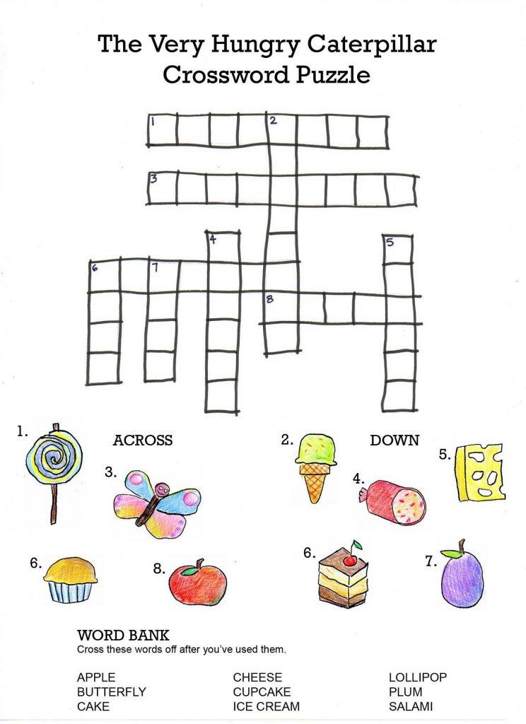 crossword puzzles for kids best coloring pages for kids. Black Bedroom Furniture Sets. Home Design Ideas