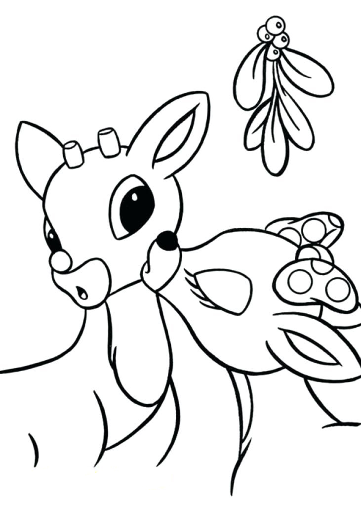 mistletoe coloring pages - photo#19