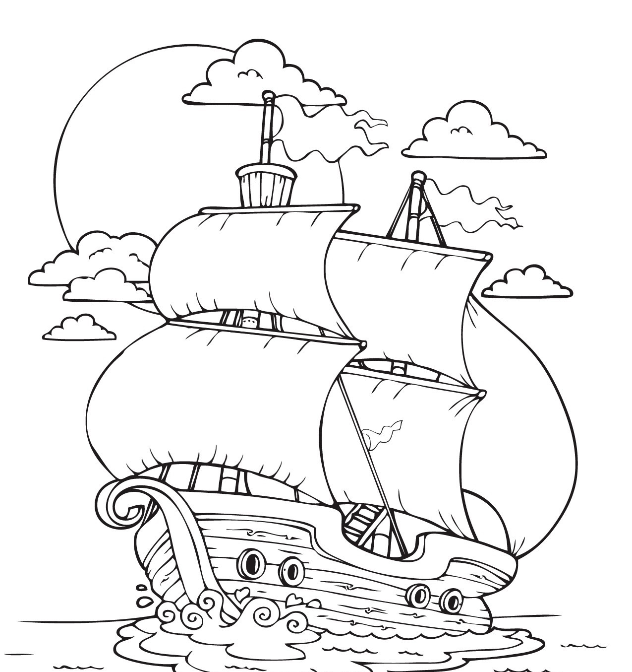 It's just a picture of Fabulous mayflower coloring page