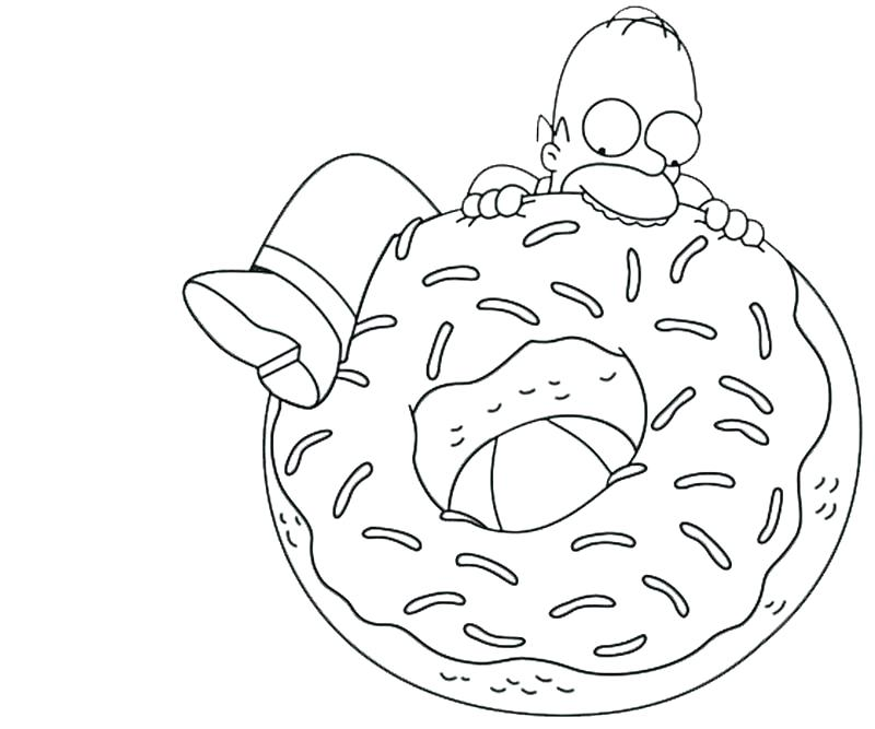 Top 10 Free Printable Simpsons Coloring Pages Online | 667x800