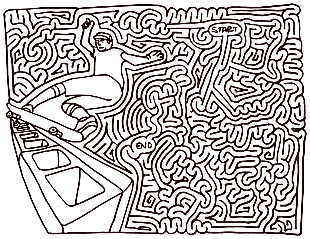 Hard Maze Puzzles for Teens