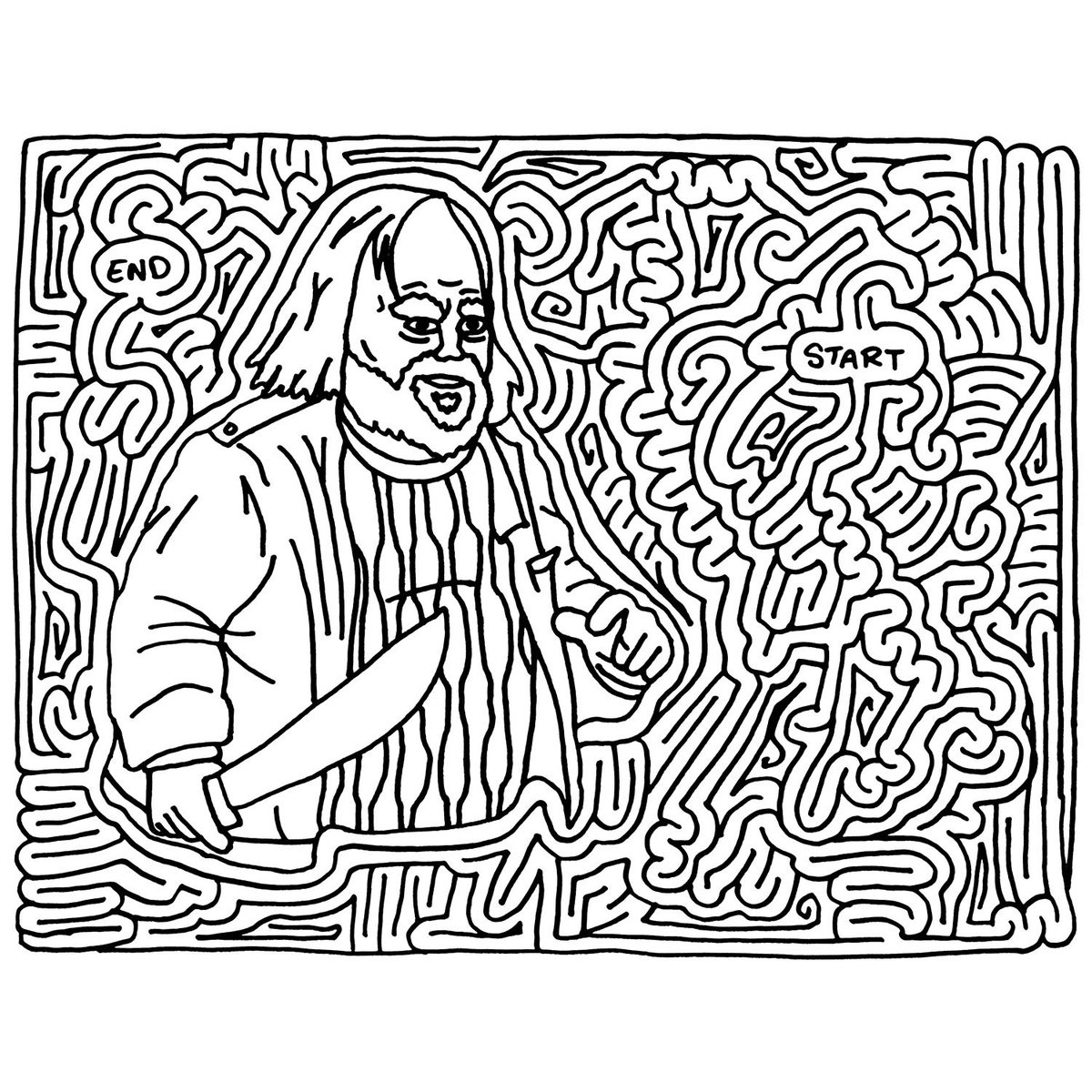 Hard Mazes Best Coloring Pages