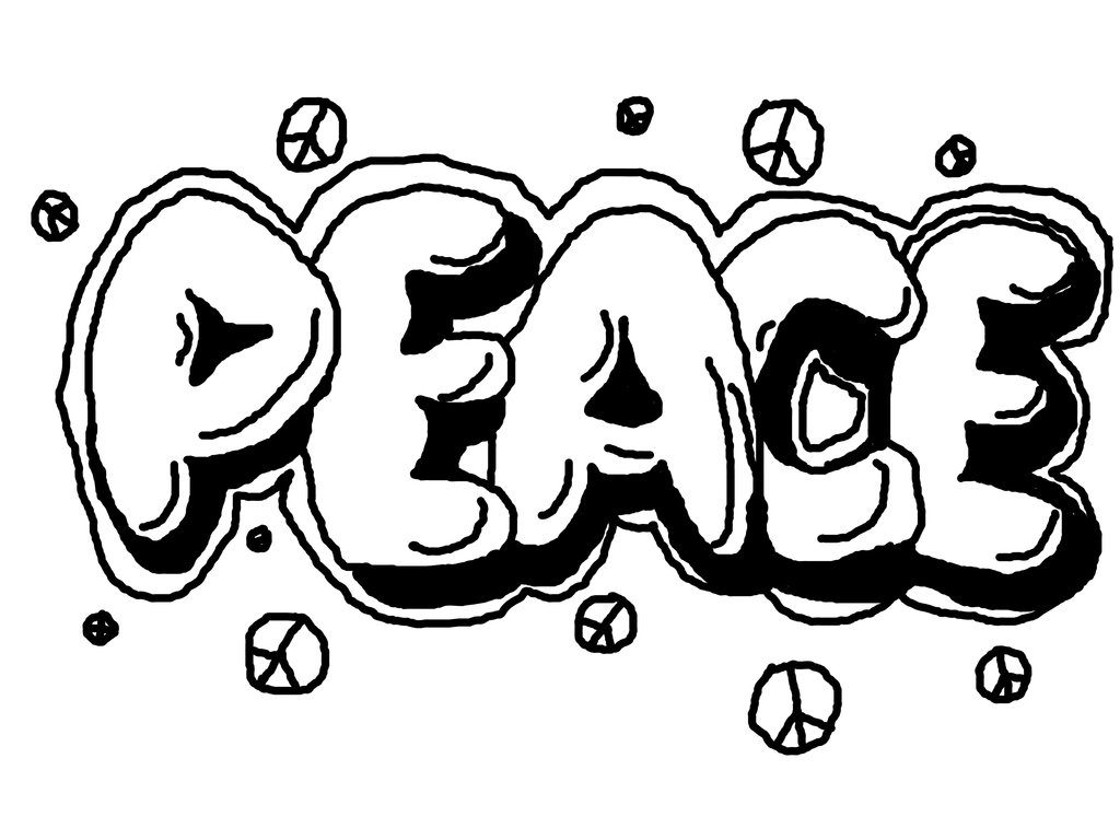 Graffiti Coloring Pages for Teens and Adults - Best Coloring ...