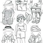 Printable Dress Up Paper Dolls