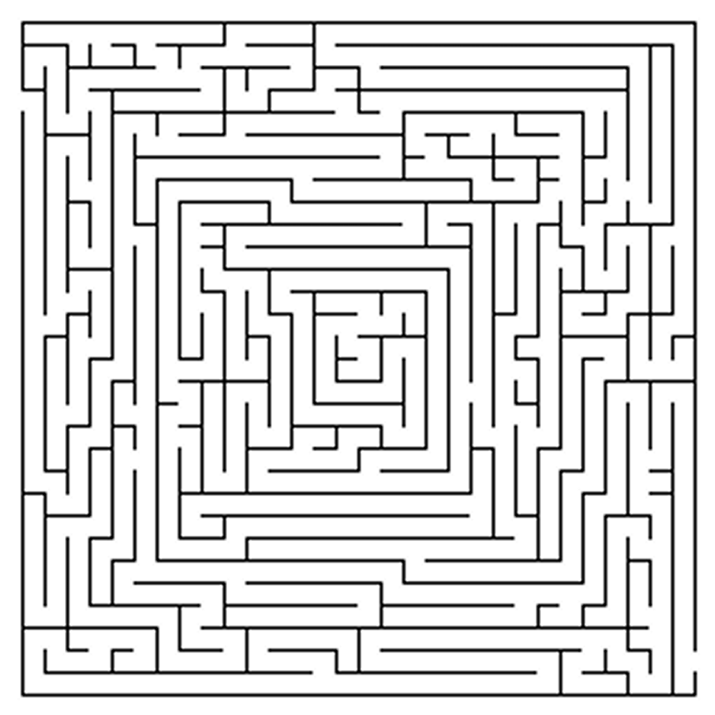 Printable Mazes for Adults
