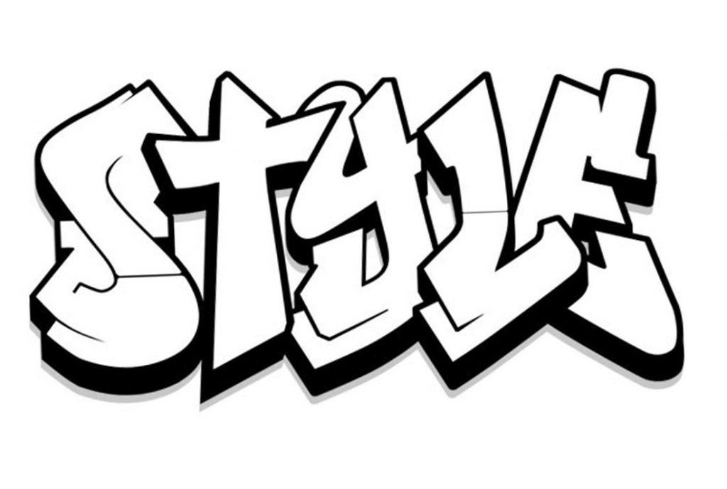 Style Graffiti Coloring Pages