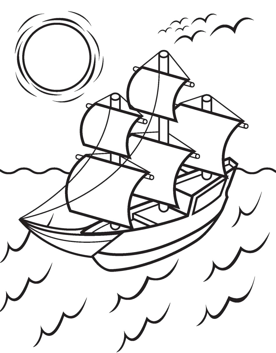 It is a photo of Insane mayflower coloring page