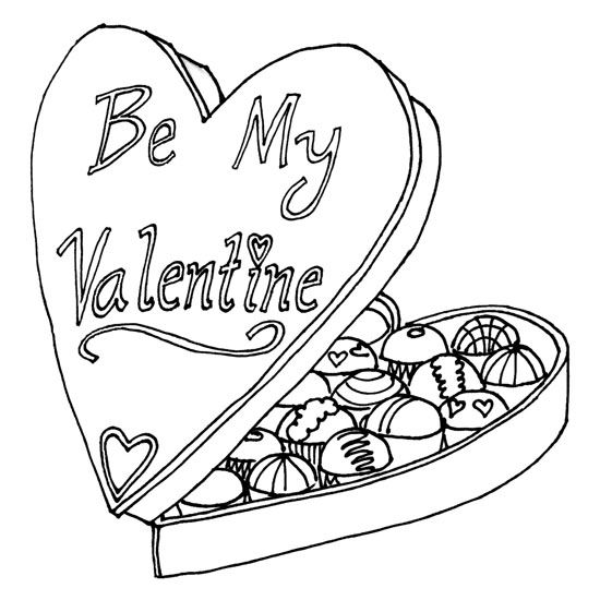 valentine sports coloring pages | February Coloring Pages - Best Coloring Pages For Kids