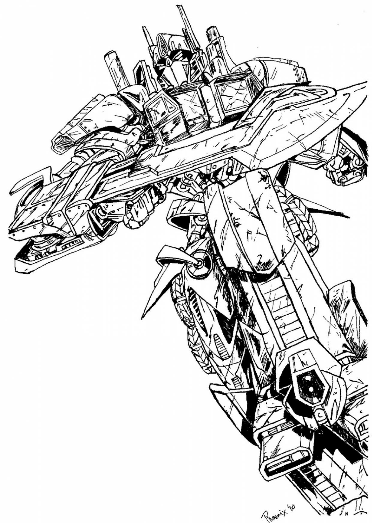 transformer coloring pages optimus prime | Optimus Prime Coloring Pages - Best Coloring Pages For Kids
