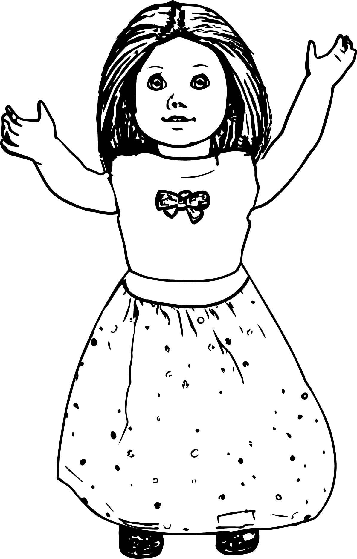 american doll coloring pages American Girl Coloring Pages   Best Coloring Pages For Kids american doll coloring pages