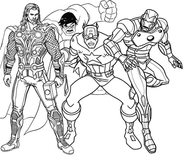 - Superhero Coloring Pages - Best Coloring Pages For Kids