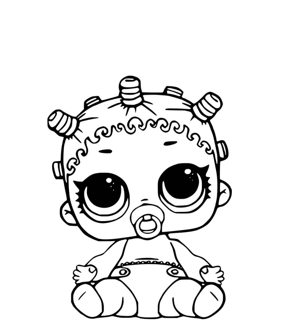 Free lol pets coloring page printables baby lol dolls coloring page surprise