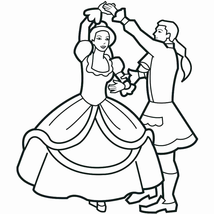 free printable coloring pages dancers - photo#41