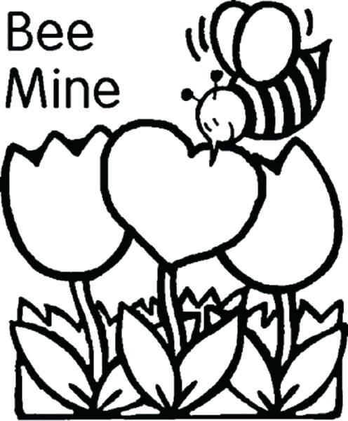Bee Mine Printable Valentines Day Card