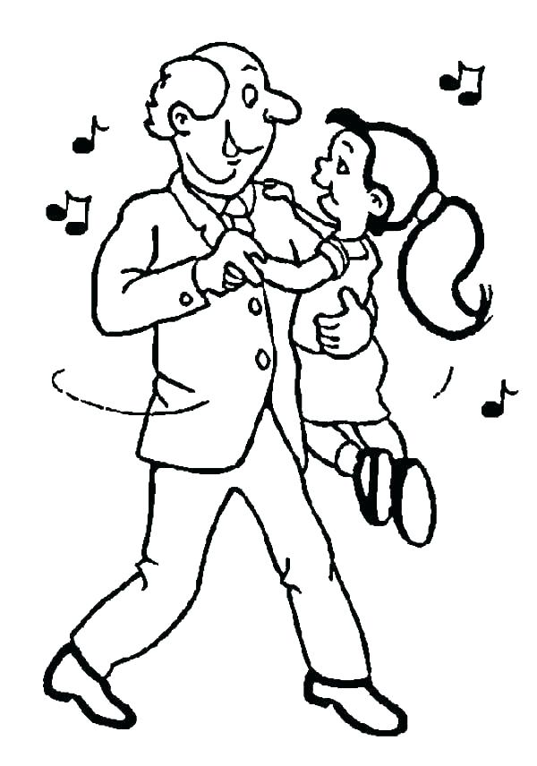 This is a graphic of Resource dance coloring pages for kids