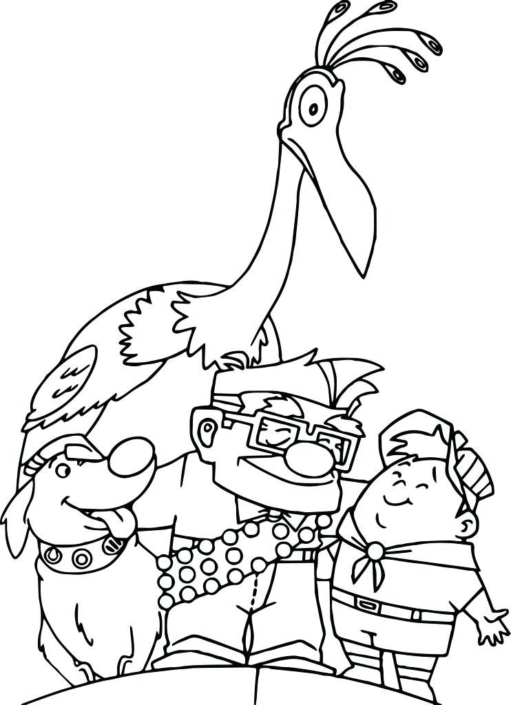 Disney Coloring Pages - Up