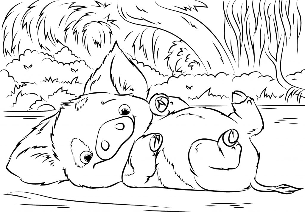 Disney Coloring Pages - Wilbur