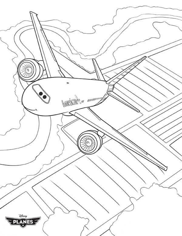 Disney Planes Movie Coloring Pages
