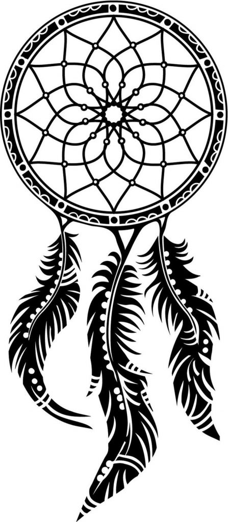 Dream Catcher Coloring Page Printables