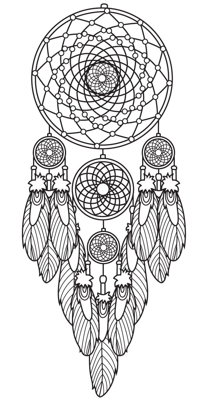 Declarative image with regard to dream catcher printable
