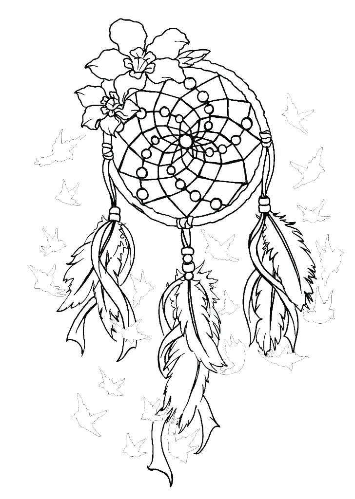 Dream Catcher Coloring Pages Best Coloring Pages For Kids