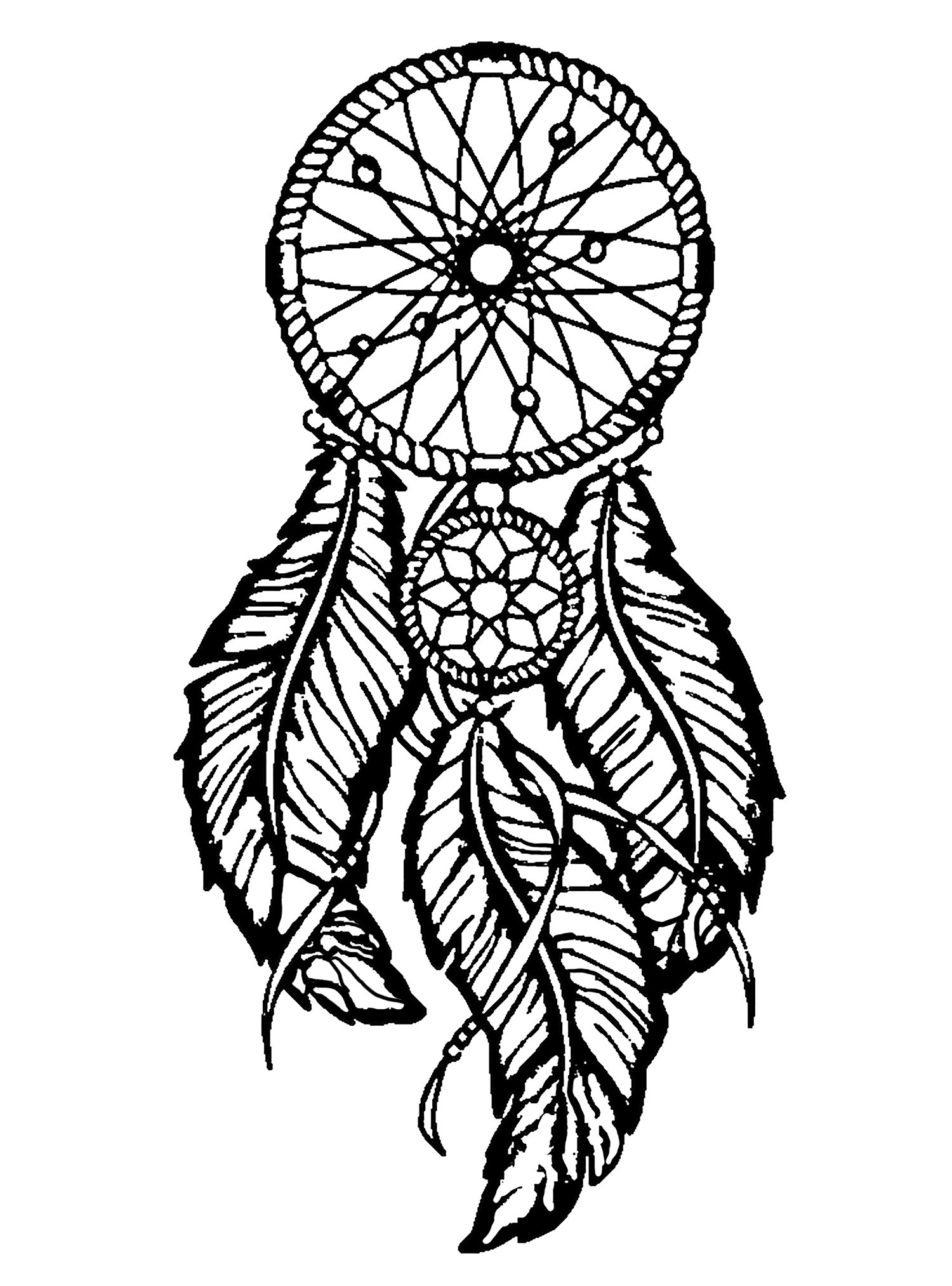 Sly image within dream catcher printable
