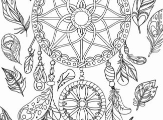 Free Dream Catcher Coloring Pages