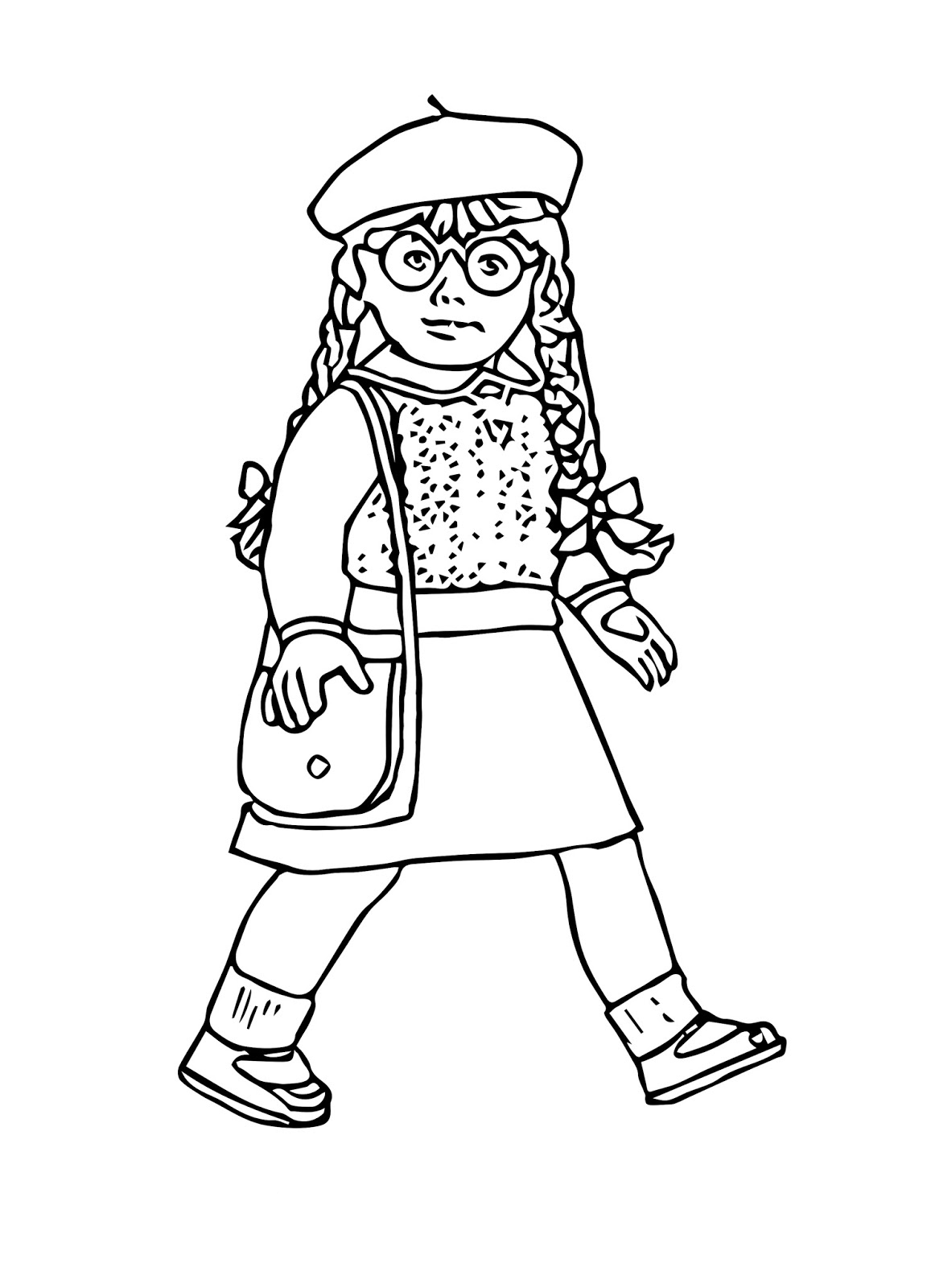 - American Girl Coloring Pages - Best Coloring Pages For Kids