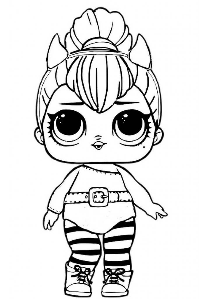 Free LOL Dolls Coloring Pages