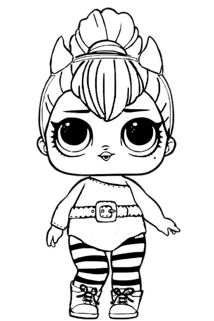 coloring pages dolls - photo#16
